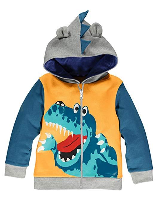 abrigos chaquetas sudaderas ropa dinosaurios